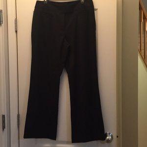 Women's Black Dress Pants - Size 14